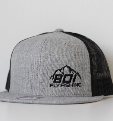Black/Heather Snapback